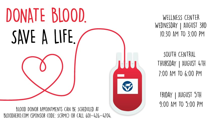 August Blood Drives